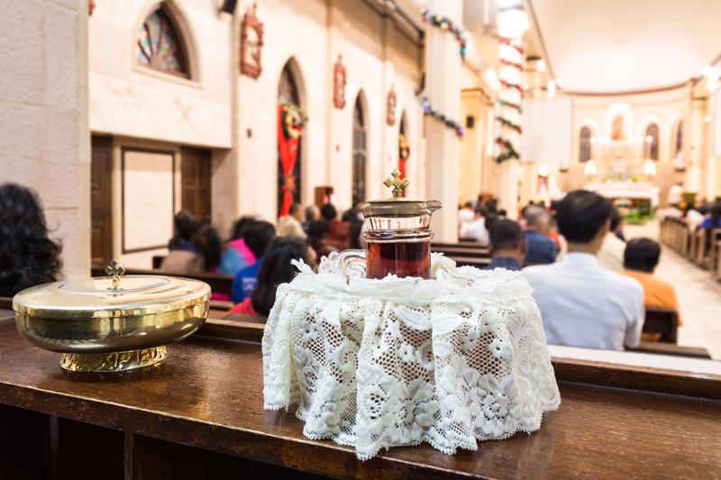 botezul la catolici
