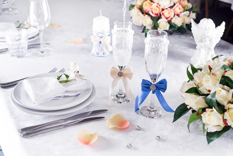 marturii nunta pahare miri